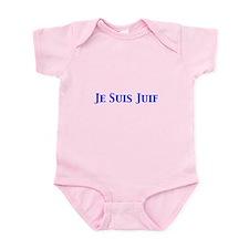 Je Suis Juif Infant Body Suit