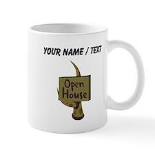 Custom Open House Sign Mugs