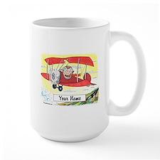 Pilot - Small Aircraft, Male Mugs