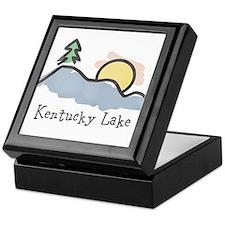 Lake Sunset Keepsake Box