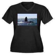 Gray Whales Plus Size T-Shirt