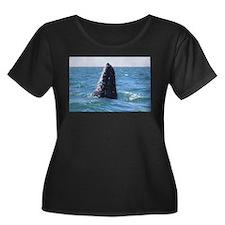 Gray Whale 1 Plus Size T-Shirt