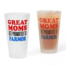 Promoted To Farmor Drinkware Drinking Glass