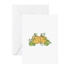 PUMPKINS Greeting Cards