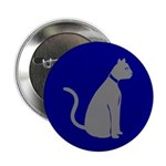 Gray Cat Button