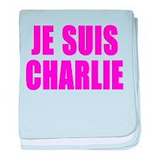 JE SUIS CHARLIE baby blanket