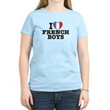 I Love French Boys T-Shirt
