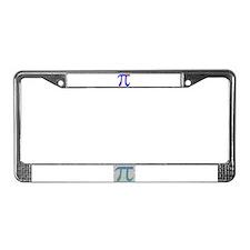 1000 digits of PI -  License Plate Frame