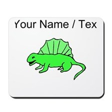 Custom Green Dinosaur Mousepad