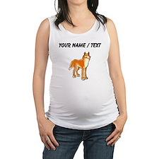 Custom Dingo Maternity Tank Top