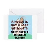 Wheaten Home Greeting Cards (Pk of 10)