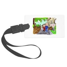 New Home, Couple Luggage Tag