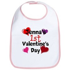 First Valentine Bib