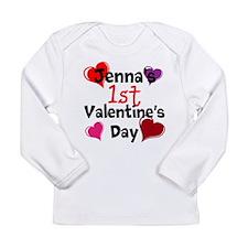 First Valentine Long Sleeve T-Shirt