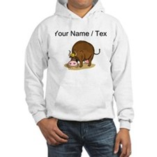 Custom Cow Grazing Hoodie