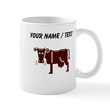 Custom Brown Cow Mugs