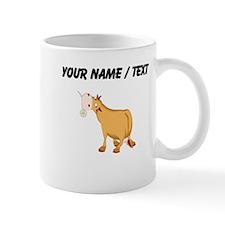 Custom Brown Bull Mugs