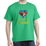 Happily Married To A Swazi T-Shirt