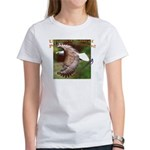 Two Eagles-b on Women's T-Shirt