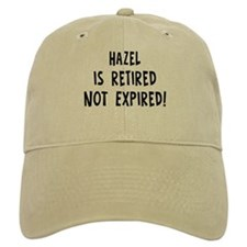 Hazel: retired not expired Cap