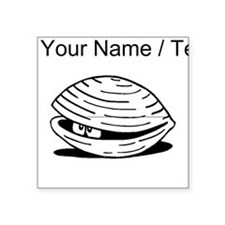 Custom Clam Sticker