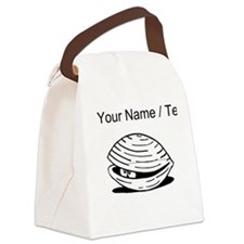 Custom Clam Canvas Lunch Bag