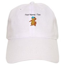 Custom Chipmunk Peeking Baseball Baseball Cap