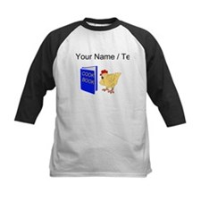 Custom Chicken Reading Cook Book Baseball Jersey
