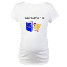 Custom Chicken Reading Cook Book Shirt