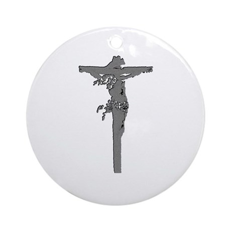 Calvary Ornament (Round)
