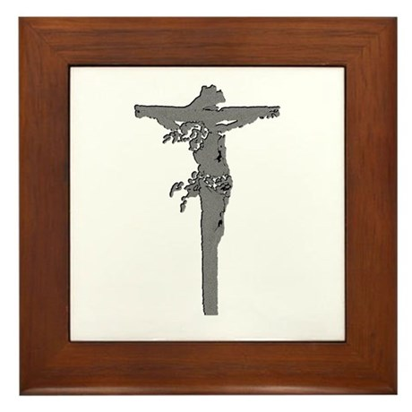 Calvary Framed Tile