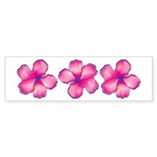 Tropical Flower Bumper Bumper Sticker