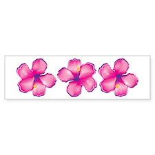 Tropical Flower Bumper Stickers