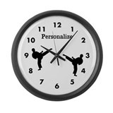 Martial arts instructor Wall Clocks