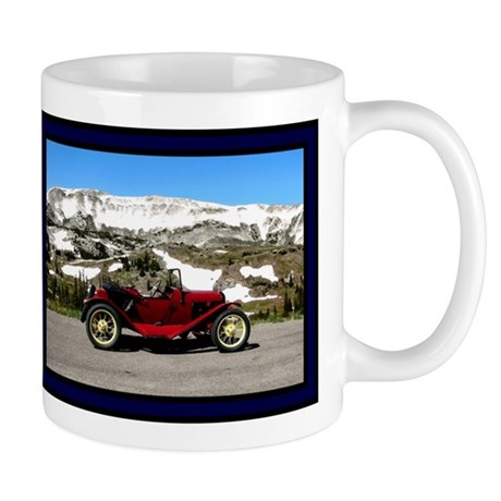 Antique Car Mug