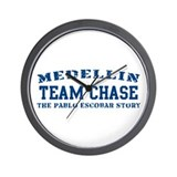 Team Chase - Medellin Wall Clock
