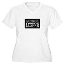 """Fantasy Baseball Legend"" T-Shirt"