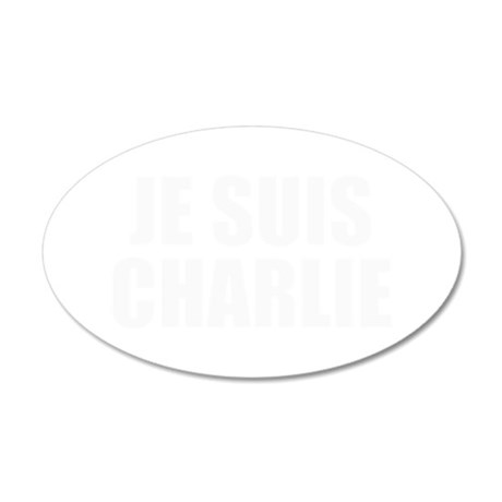 Je suis Charlie-Imp white Wall Decal