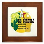 Mexican Bar Framed Tile