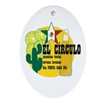 Mexican Bar Oval Ornament