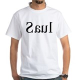 Saul: Mirror White T-shirt