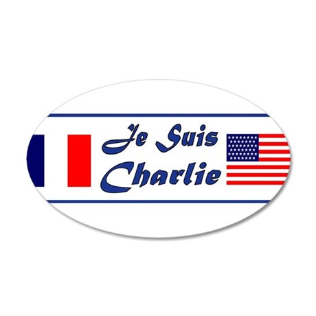 JE SUIS CHARLIE Wall Decal