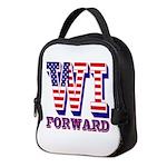 Wisconsin WI Forward Neoprene Lunch Bag