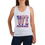 Wisconsin WI Forward Women's Tank Top