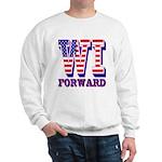 Wisconsin WI Forward Sweatshirt