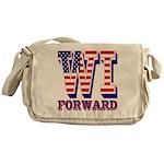 Wisconsin WI Forward Messenger Bag