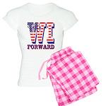 Wisconsin WI Forward Women's Light Pajamas