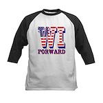 Wisconsin WI Forward Kids Baseball Jersey