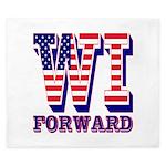 Wisconsin WI Forward King Duvet