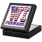 Wisconsin WI Forward Keepsake Box